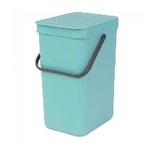 Корзина для мусора Brabantia Sort & Go Waste Bin 16 л Mint