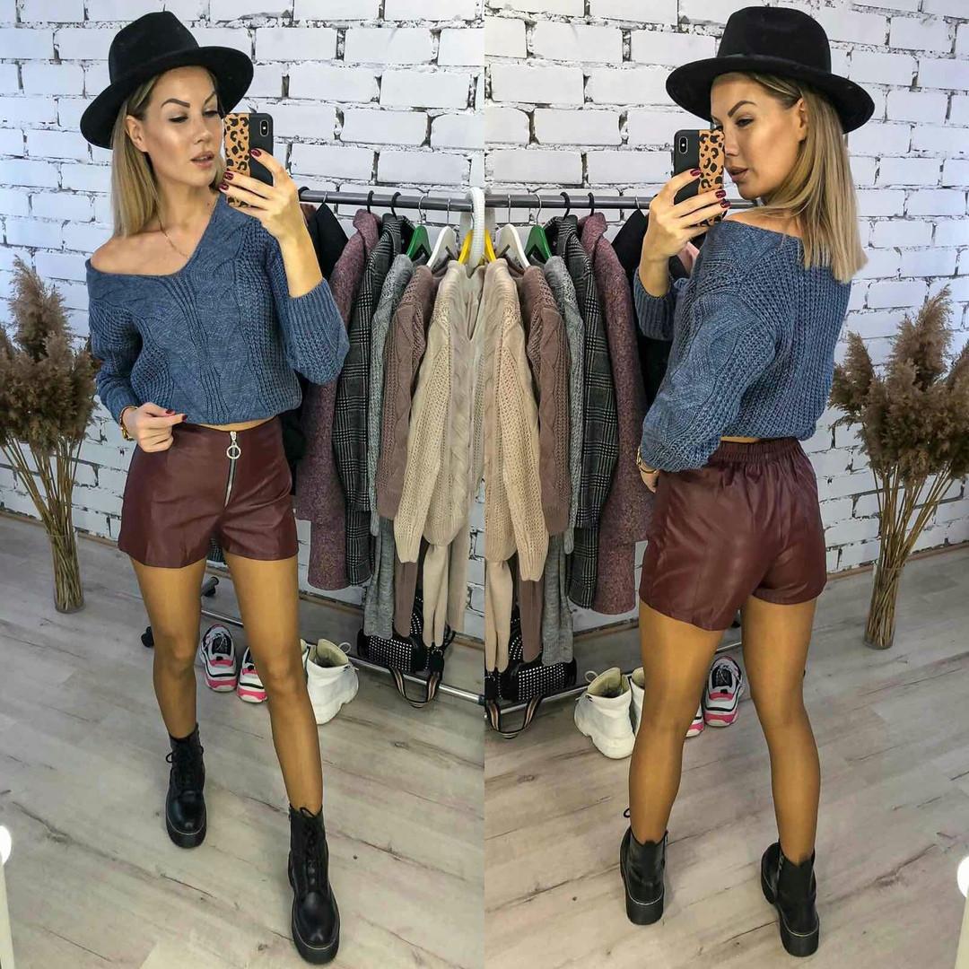 Женские модные шорты  ЛГ301