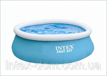 Надувной бассейн INTEX Easy Set (54402)183 см.x 51 см.