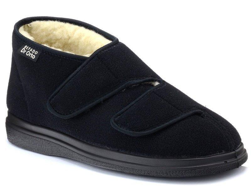 Ботинки диабетические на овчине, для проблемных ног мужские DrOrto 986 M 011