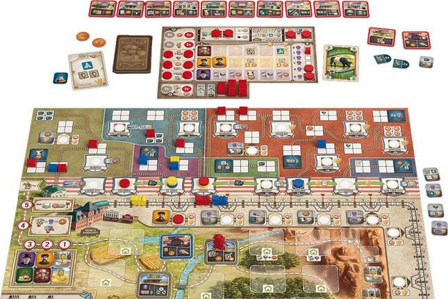 Настольная игра Великий западный путь. Дорога на Север, фото 2