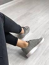 """Кроссовки Adidas Stan Smith """"Серые"""", фото 3"""