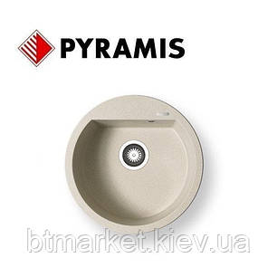 Кухонная мойка PYRAMIS ALAZIA (D51) бежевый, фото 2
