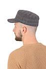 Кепка натовка мужская из ткани светло-серая, фото 2