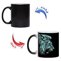 Чашка хамелеон Сила зверя 330 мл, фото 1