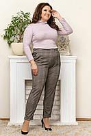 Женские стильные брюки  ЛГ257 (бат), фото 1