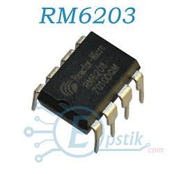 RM6203, FPS контроллер питания, DIP8