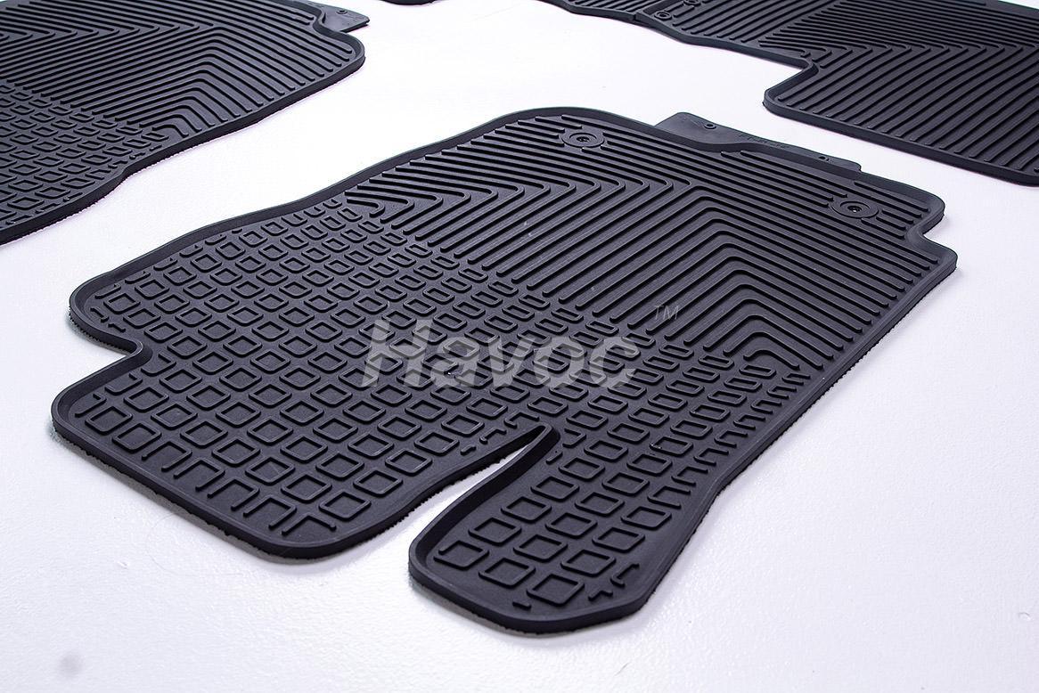 Оригинальные коврики Toyota Rav-4 c 2012 по 2019 HAVOC резиновые в салон полный комплект