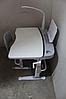 Комплект Парта и стул-трансформеры Funkids М9047grey+ЛАМПА!+Подставка для книг!