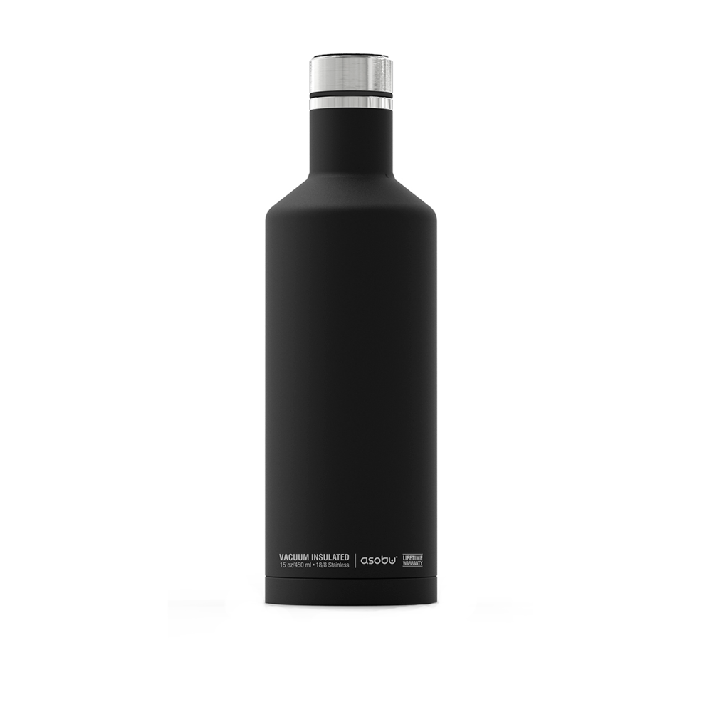 Термобутылка Asobu Times Square Black 450 мл