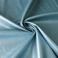 Ткань Экокожа_голубая