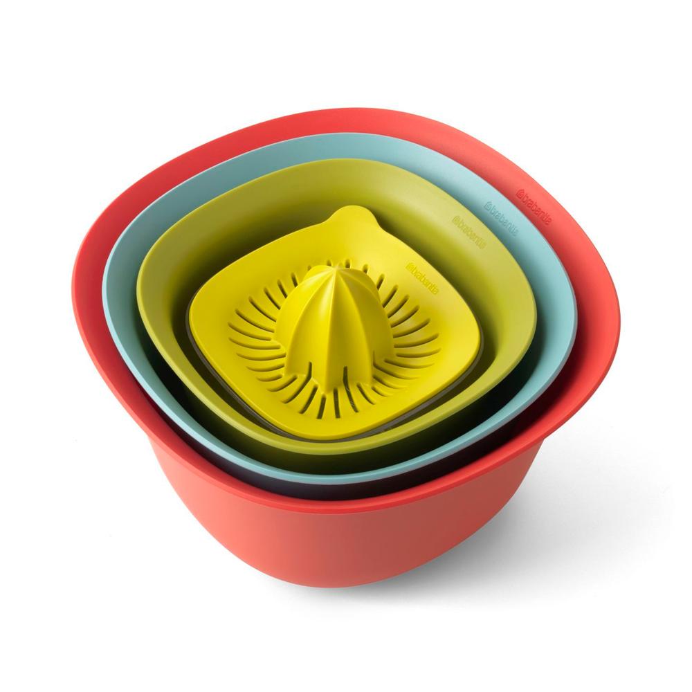 Кухонный набор Brabantia Mixing Bowl Set Tasty Colours Multicolor