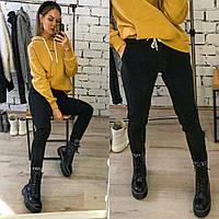 Женские модные штаны  ЛГ225 (бат), фото 1