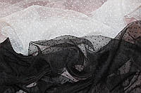 Огранза мягкая , не стрейч, Точка средняя, цвет черный   №617, фото 1