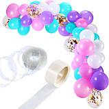 Гирлянда воздушных шаров в виде арки / фотозона для праздников: свадьба, день рождение, вечеринка, юбилей, фото 2