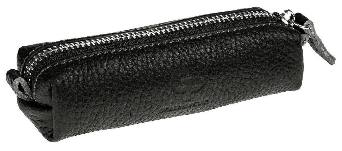 Ключница из черной кожи флотар Grande Pelle (40271012)