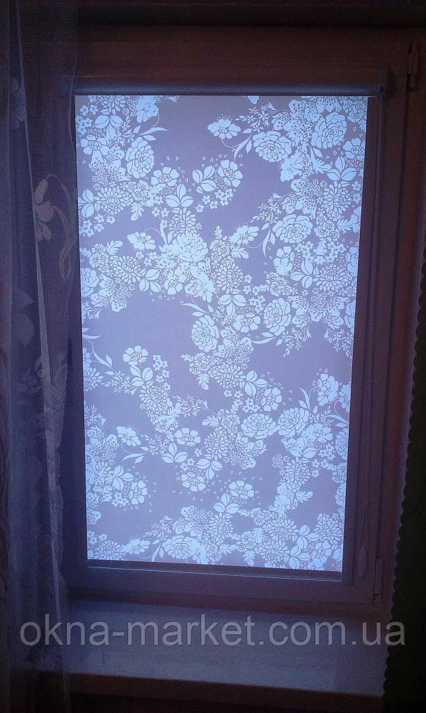 Тканевые жалюзи на окна ПВХ
