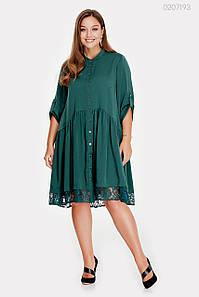Платье Олбани (изумрудный) 1063641582