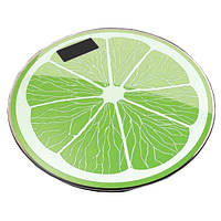 Весы напольные 03A фрукты лайм, 180кг (50г)