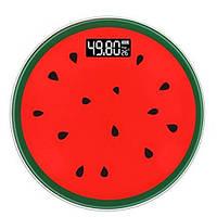 Весы напольные 03A фрукты арбуз, 180кг (50г)