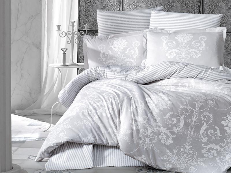 Комплект постельного белья Clasy Ранфорс 200х220 Alone-v1
