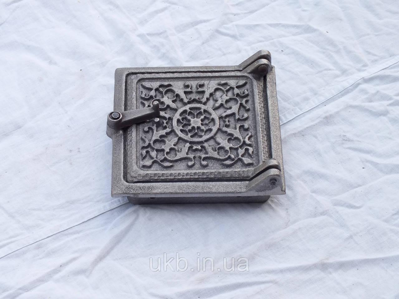 Дверца прочистная СОЛНЦЕ 155*150 мм