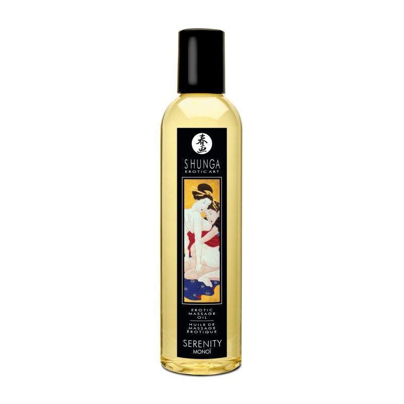 Масажне масло Shunga Serenity - Monoi (250 мл)