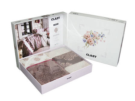 Комплект постільної білизни Clasy Ранфорс 200х220 Andora v3, фото 2