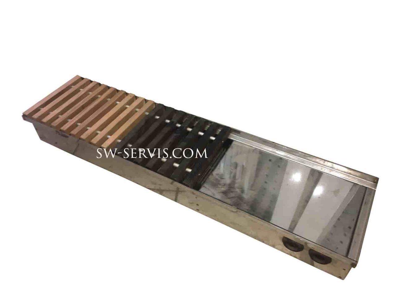Внутрипольный конвектор 325*1000 radopol h-140 мм