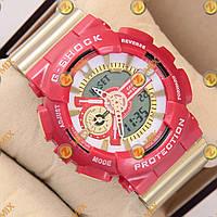 Часы G-Shock GA-110 Gold-Red