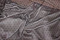 Сетка стрейч точка черная   , № 625, фото 1
