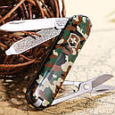 Нож складной, мультитул Victorinox Classic SD (58мм, 7 функций), камуфляжный 0.6223.94, фото 5