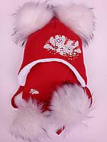 Зимняя шапка детская для детей