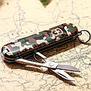 Нож складной, мультитул Victorinox Classic SD (58мм, 7 функций), камуфляжный 0.6223.94, фото 7