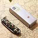Нож складной, мультитул Victorinox Classic SD (58мм, 7 функций), камуфляжный 0.6223.94, фото 9
