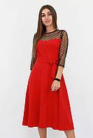 S, L / Вишукане жіноче плаття Blade, червоний
