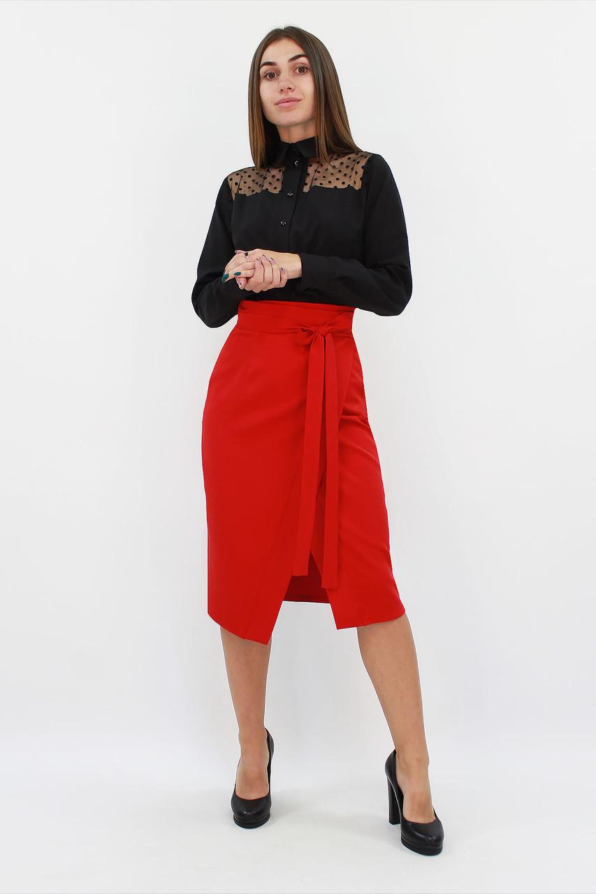 S, M, L, XL / Вишукана жіноча спідниця Nicolet, червоний