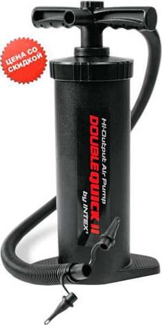 Intex Насос 68605 (3) ручной, повышенной мощности, 37см, фото 2