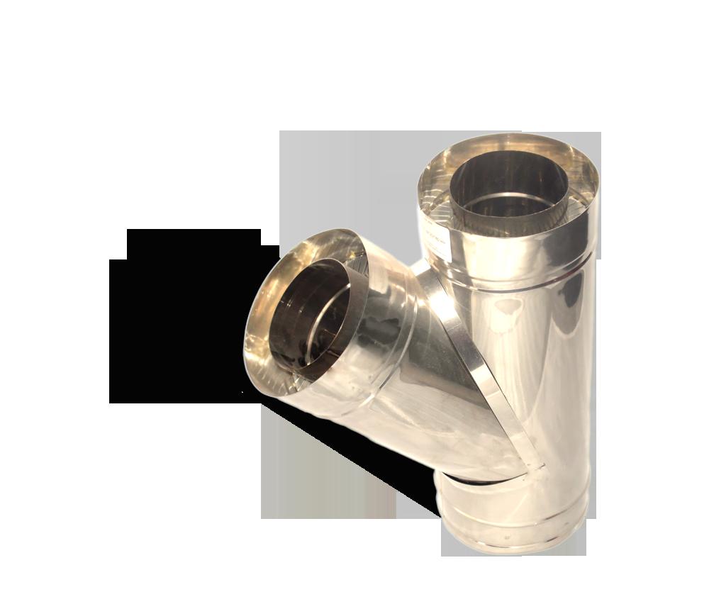 Версия-Люкс (Кривой-Рог) Тройник угол 45 н/н, толщиной 0,8 мм, диаметр 250мм
