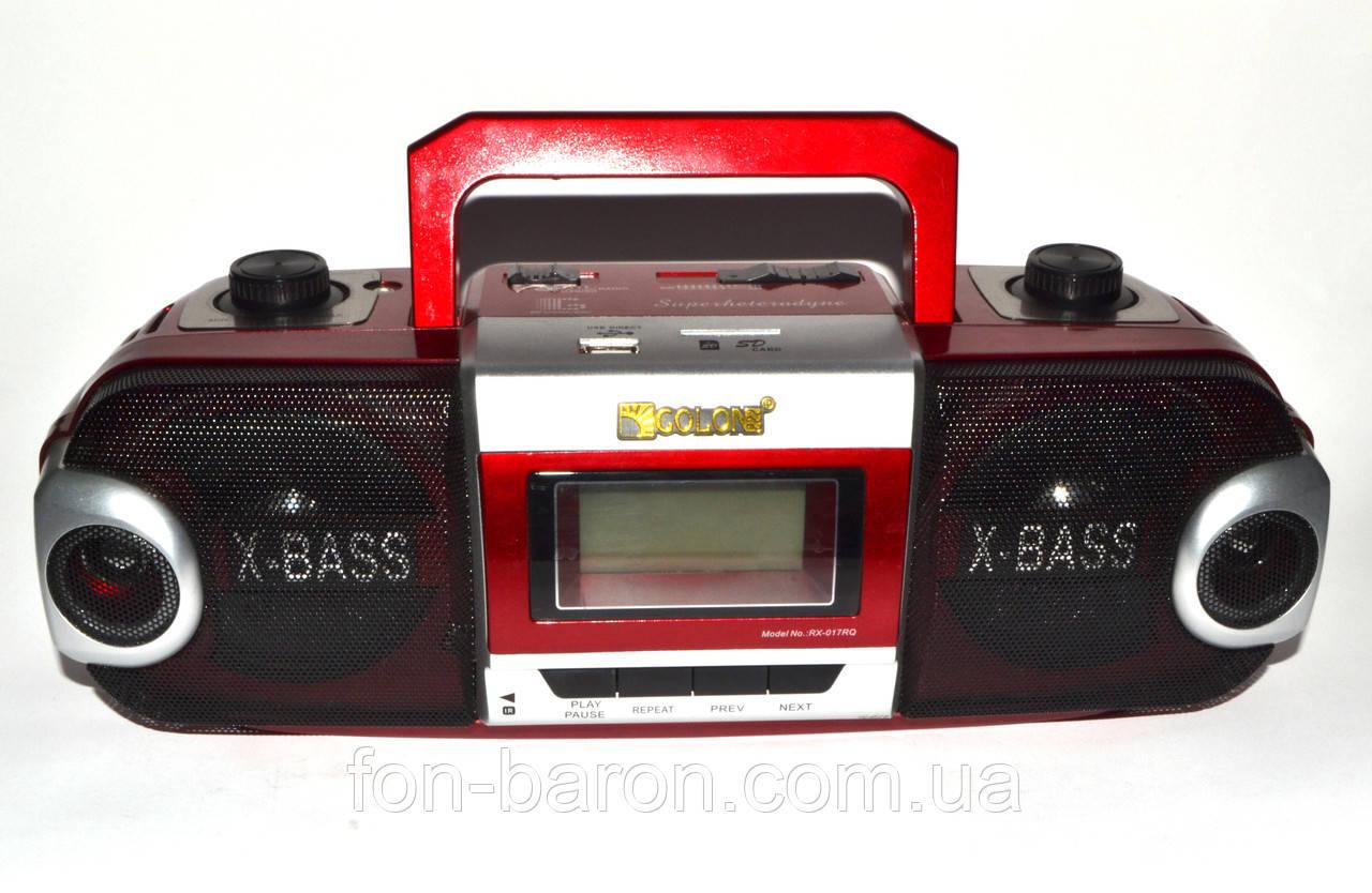 Бумбокс GOLON RX-017RQ радио, mp3, USB, SD, фото 1