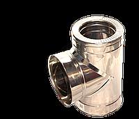 Версия-Люкс (Кривой-Рог) Тройник угол 87 н/н, толщиной 0,5 мм, диаметр 200мм