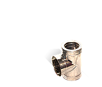 Версия-Люкс (Кривой-Рог) Тройник угол 87 н/н, толщиной 0,8 мм, диаметр 180мм