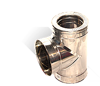 Версия-Люкс (Кривой-Рог) Тройник угол 87 н/н, толщиной 0,8 мм, диаметр 200мм