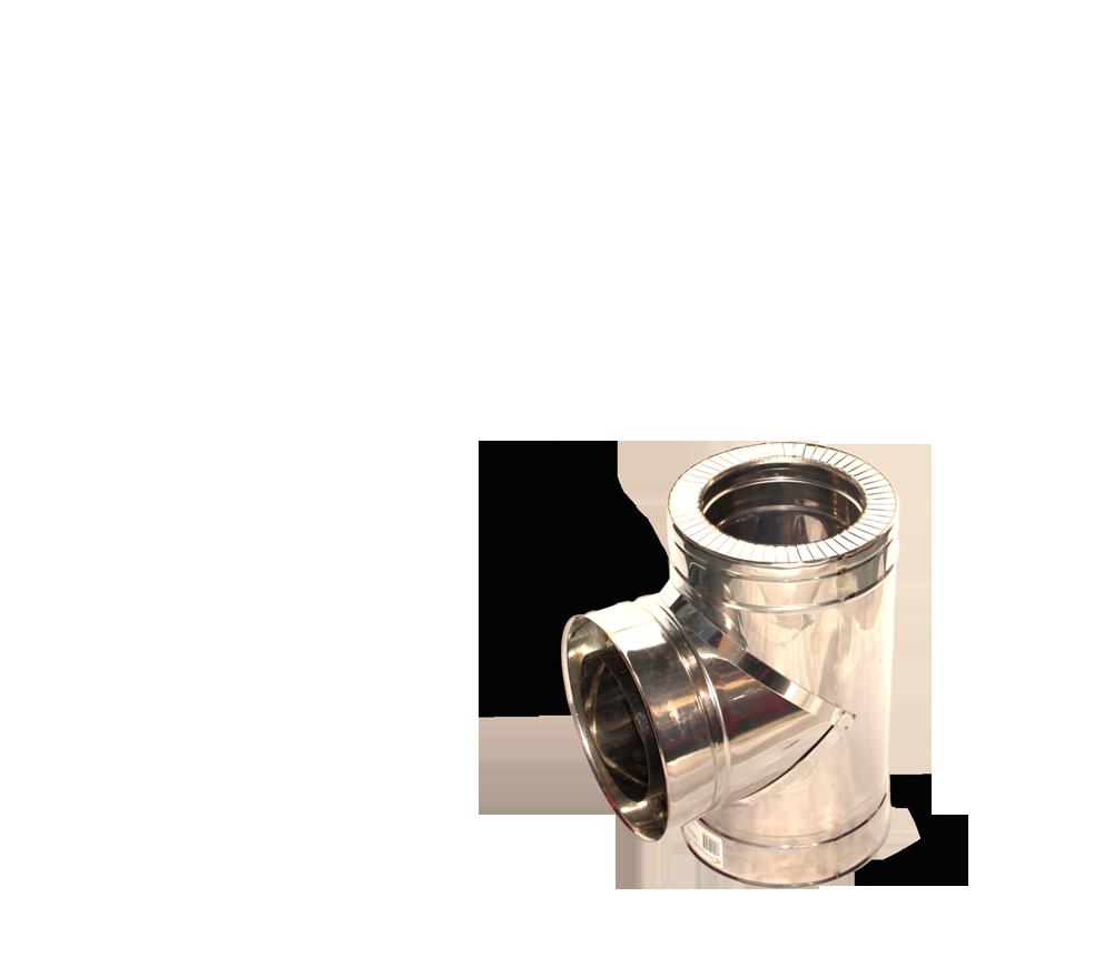 Версия-Люкс (Кривой-Рог) Тройник угол 87 н/н, толщиной 1 мм, диаметр 125мм