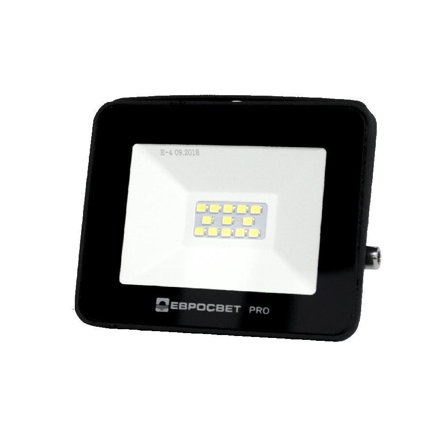 Прожектор світлодіодний ЕВРОСВЕТ 10Вт 6400К EV-10-504 PRO 900Лм