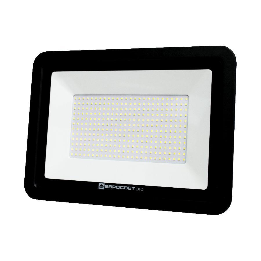 Прожектор светодиодный ЕВРОСВЕТ 200Вт 6400К EV-200-504 PRO 18000Лм + PULS
