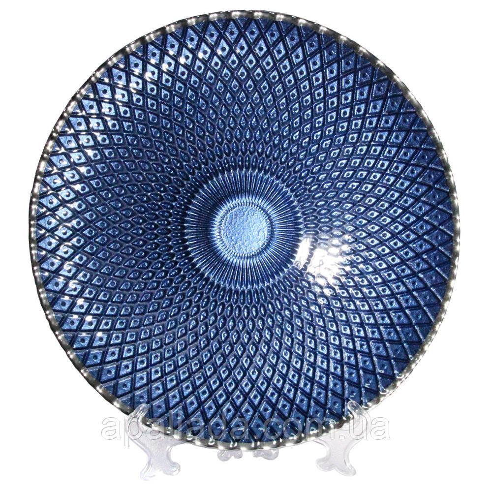 "Тарелка ""Кобальт-блу"", диаметр 32,5см."