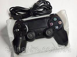 Джойстик DualShock 4 PS 4 проводной Черный