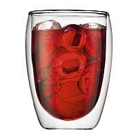 Стеклянный стакан с двойными стенками (300 мл), фото 1
