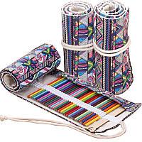 Пенал для карандашей на завязках Colore 72 шт